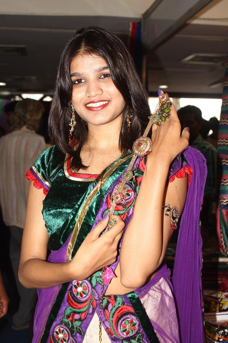 Isha Agarwal Launches Silk Of India Exhibition Cum Sale