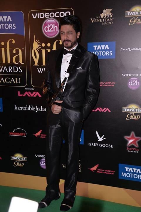 Shahrukh Khan During The Promotion Of Chennai Express At IIFA 2013 In Macau