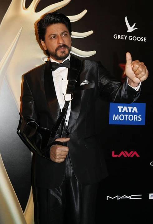 Shahrukh Khan At IIFA 2013 In Macau For Promoting Chennai Express