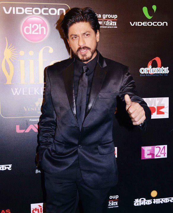 Shahrukh Khan Promote His Flick Chennai Express At IIFA 2013 In Macau
