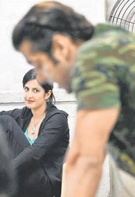 Katrina Kaif And Salman Khan Nice Look Photo Still