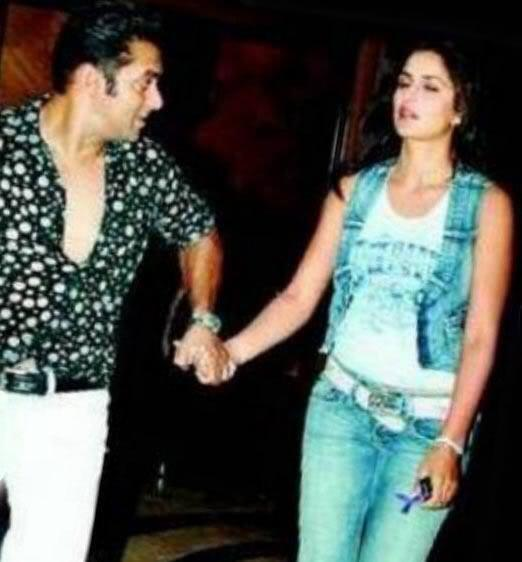 Salman Khan And Katrina Kaif During Happier Times
