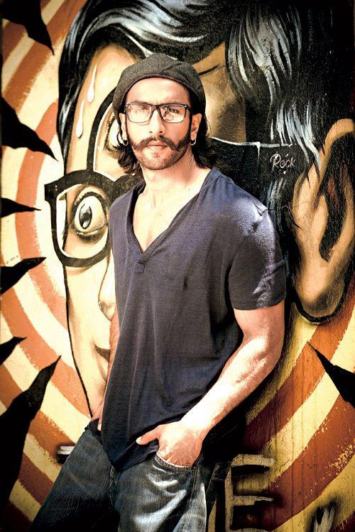Ranveer Singh In Different Look Photo Shoot For Rohan Shrestha