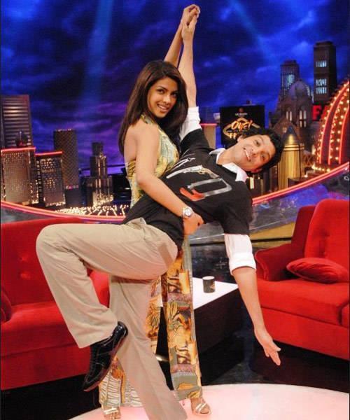 Priyanka And Farhan Funny Dancing Still