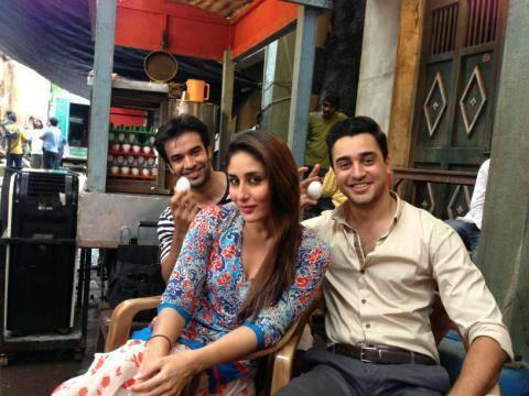 Kareena And Imran A Still From The Sets Of GTPM