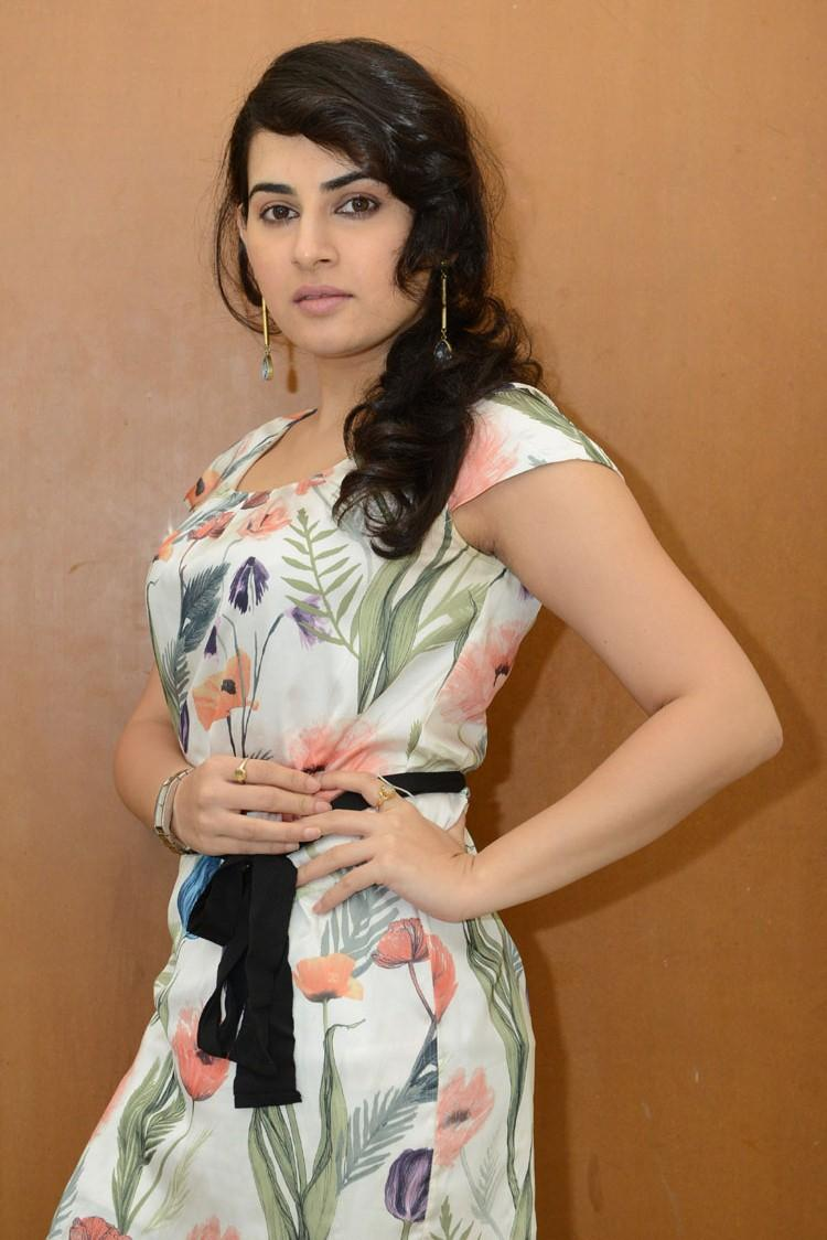 Archana Hot ANd Sexy Look At Panchami Teaser Trailer Launch Function