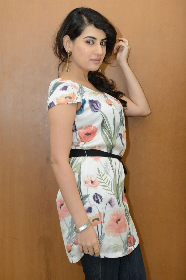 Archana Nice Photo Shoot During The Panchami Teaser Trailer Launch Function