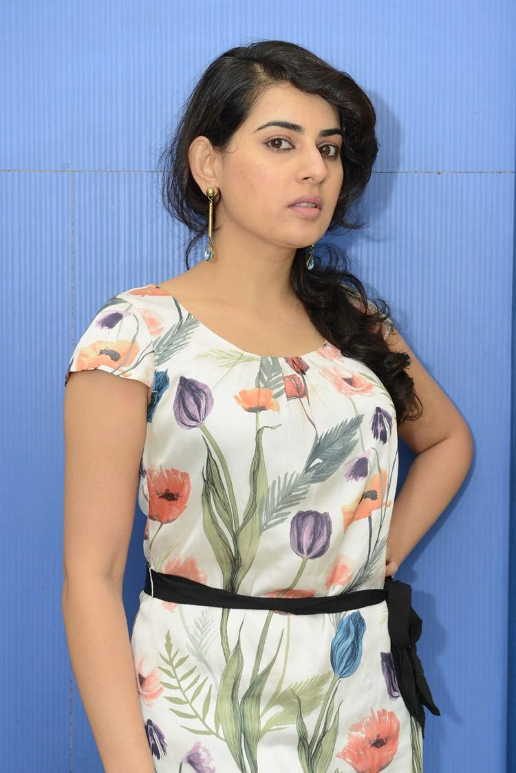 Archana Strikes A Pose At Panchami Teaser Trailer Launch Function