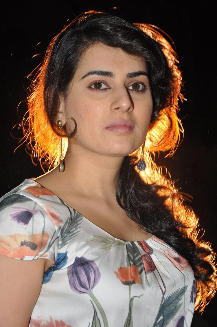 Archana Stunning Look Pose At Panchami Teaser Trailer Launch Function