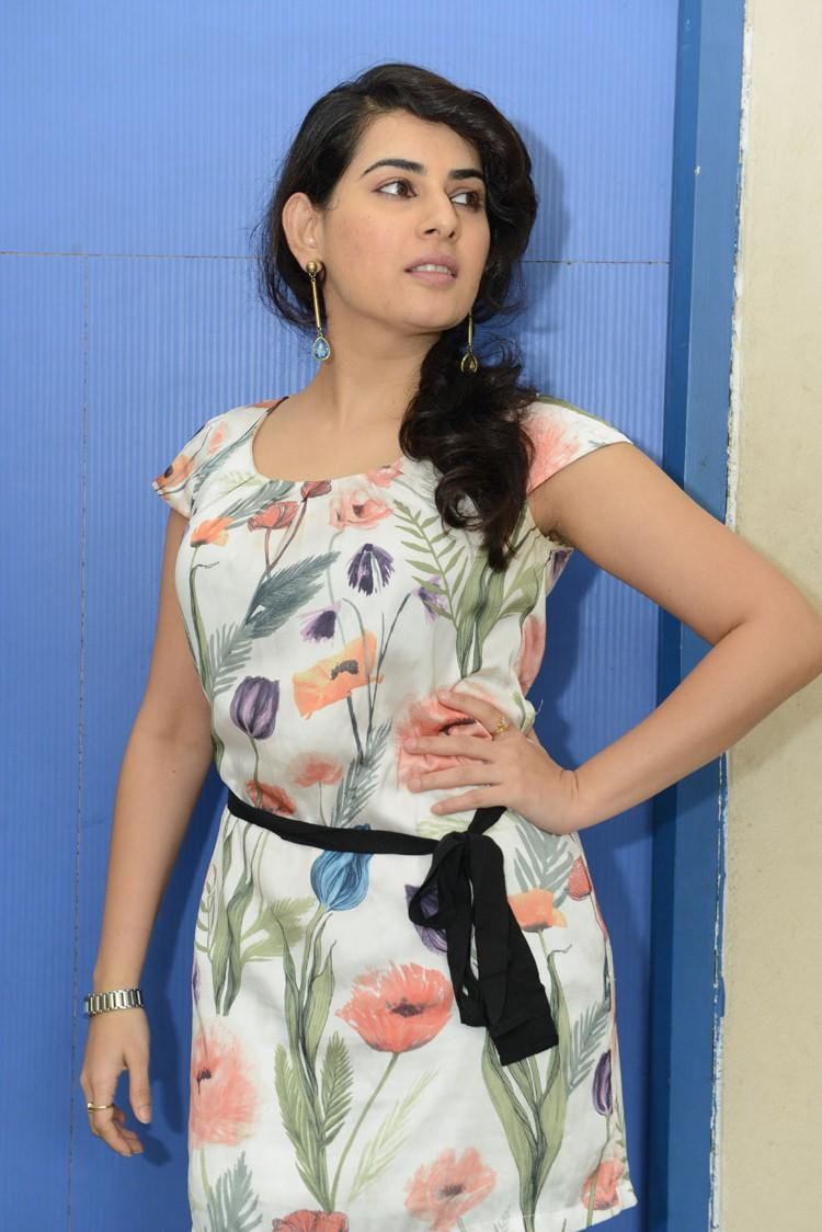Archana Trendy Look At Panchami Teaser Trailer Launch Function