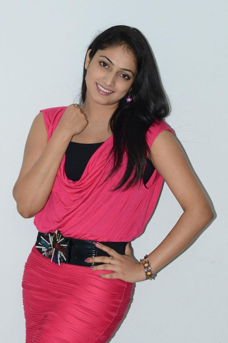 Hari Priya Dazzling Pic At Telugulo Naaku Nachani Padam Prema Press Meet