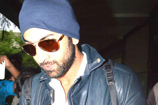 Ranbir Kapoor Spotted At Airport From Spain