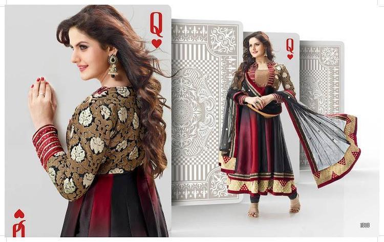 Zarine Khan In Anarkali Dress Beautiful Look Photo Shoot Still