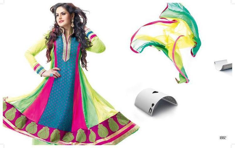 Zarine Khan In Anarkali Glamour Look Photo Shoot Still