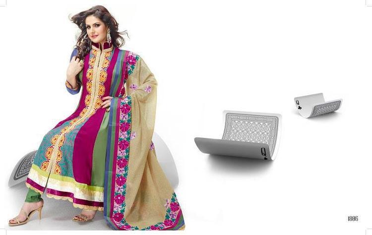 Zarine Khan In Anarkali Umbrella Frocks Ravishing Look Photo Shoot Still