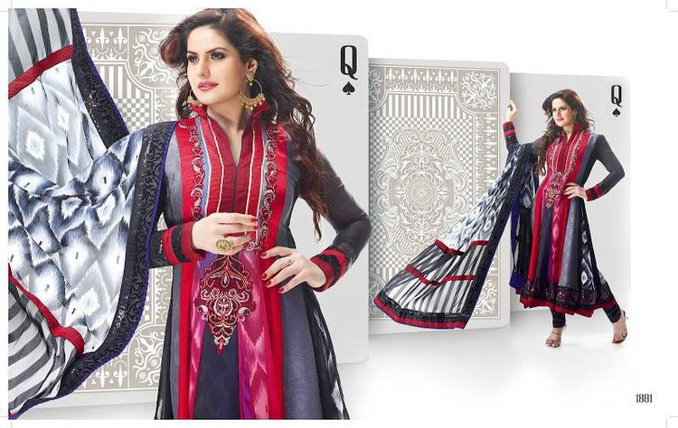 Zarine Khan Gorgeous Look In Anarkali Dress Latest Photo Shoot Still