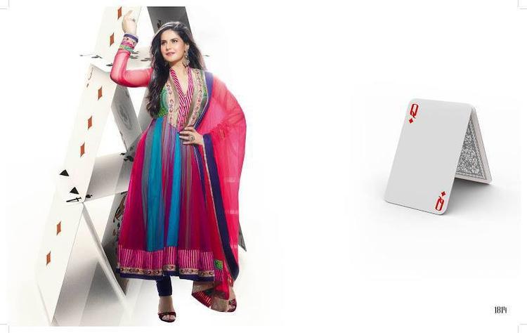 Zarine Khan Latest Photo Shoot Still In Anarkali Dress