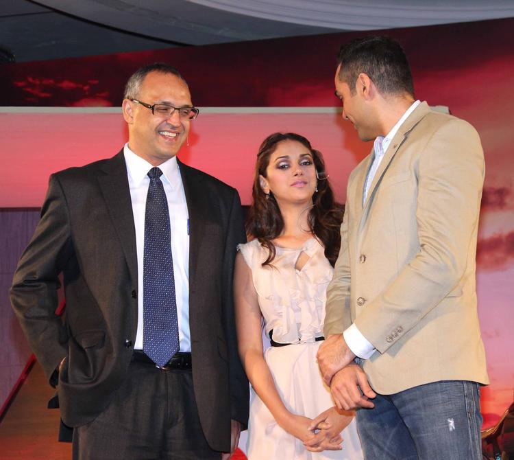Aditi Rao Hydari And Abhay Deol Still During The Launch Of Mercedes-Benz New B 180