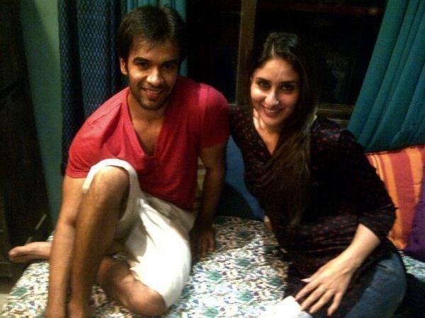 Kareena Sweet Still On The Sets Of Gori Tere Pyaar Main