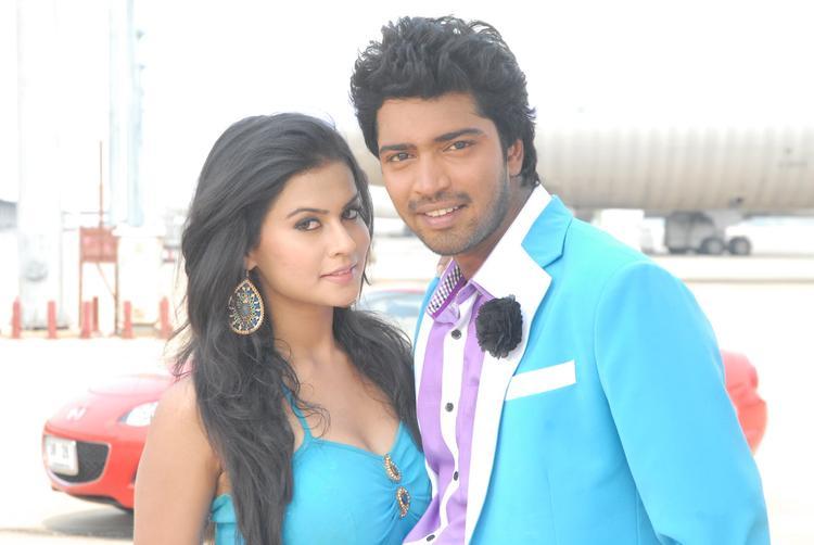 Allari Naresh And Sharmila Mandre Stylist Still In Kevvu Keka  Movie