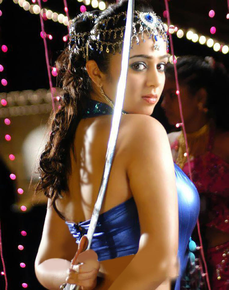 Charmi Kaur Latest Hot Look In Iddaru Khaideelu Movie
