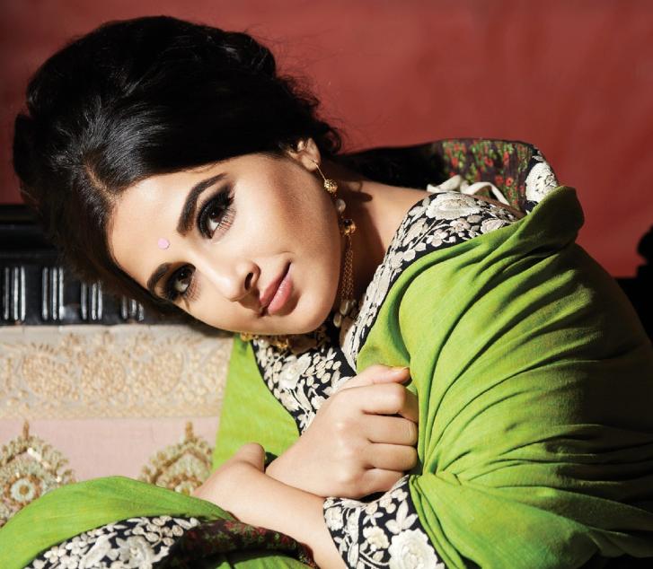 Vidya Balan Dazzling Beauty Look Photo Shoots For Filmfare July 2013