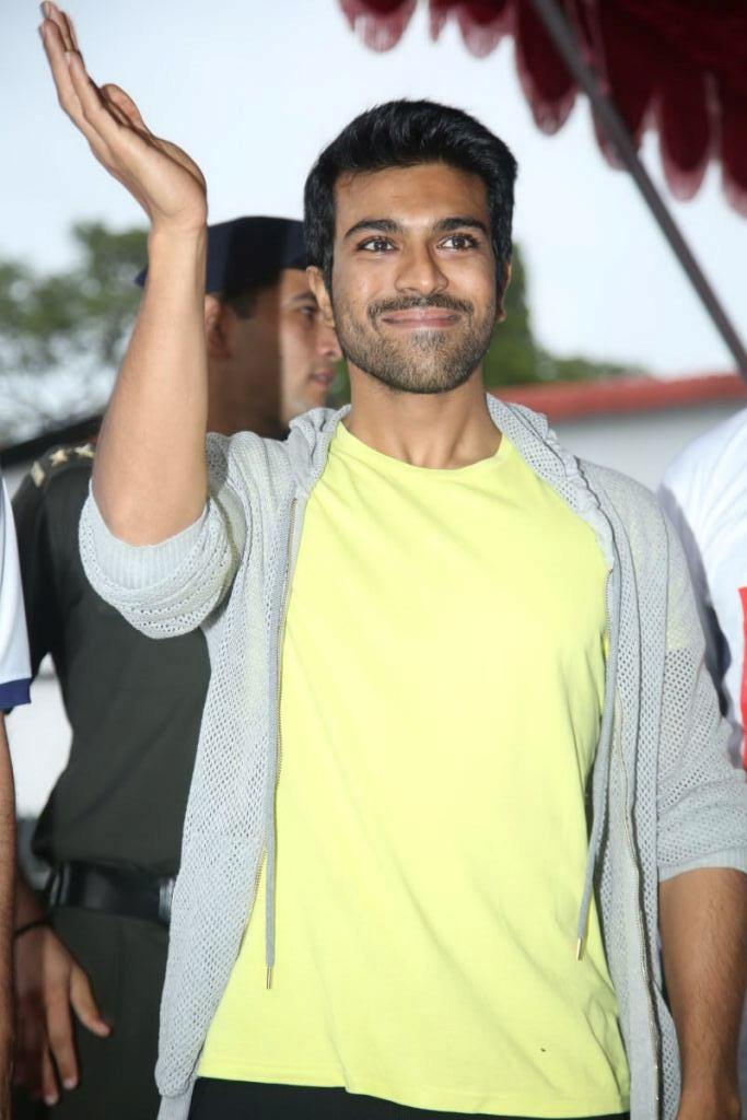 Ram Charan Teja Smiling Look At MCMEC Diamond Jubilee Celebrations Event