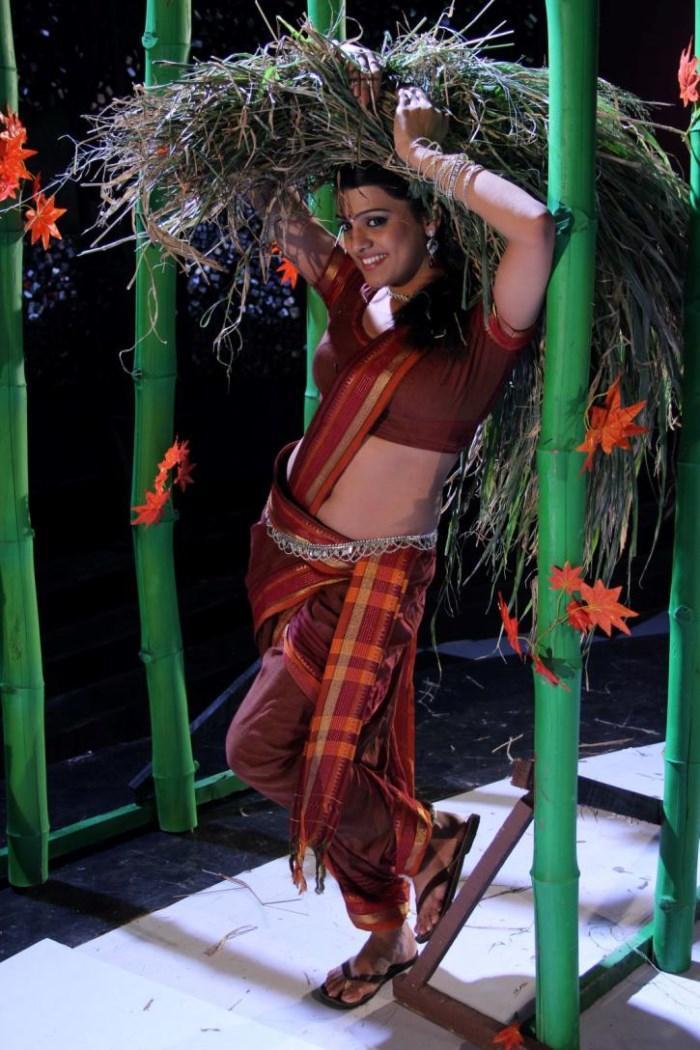 Tashu Kaushik In Village Girl Dress Nice Cool Look Still