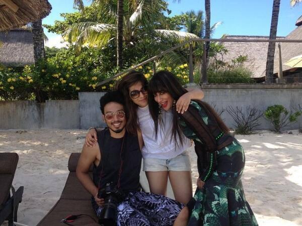 Chitrangada Singh Stills From Grazia Shoot In Mauritius