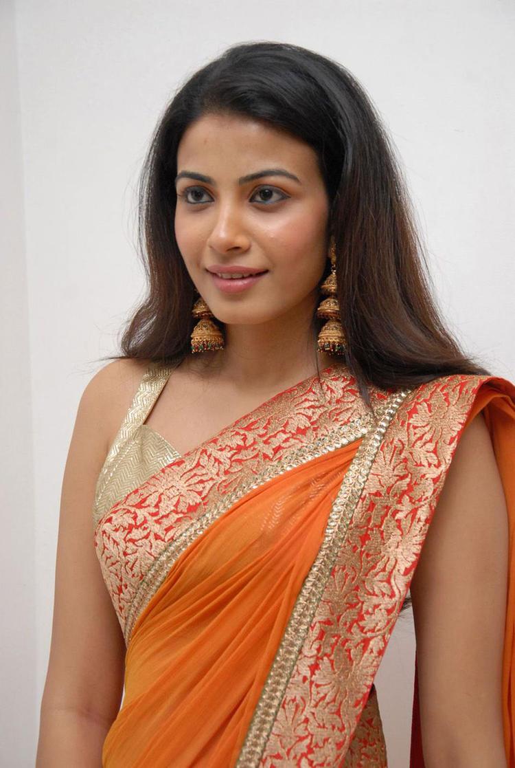 Pretty Kavya Shetty Cool Look Still In Saree