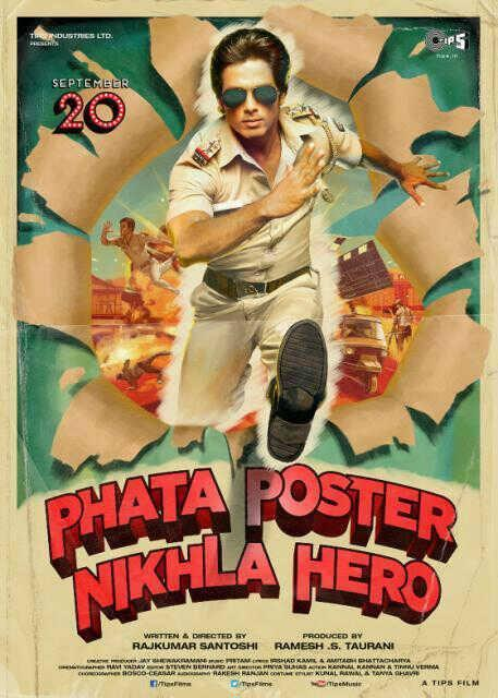 First Look Posters Of Phata Poster Nikla Hero