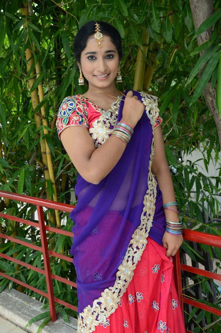Tollywood Actress Manasa Cute Face Look Photo Shoot
