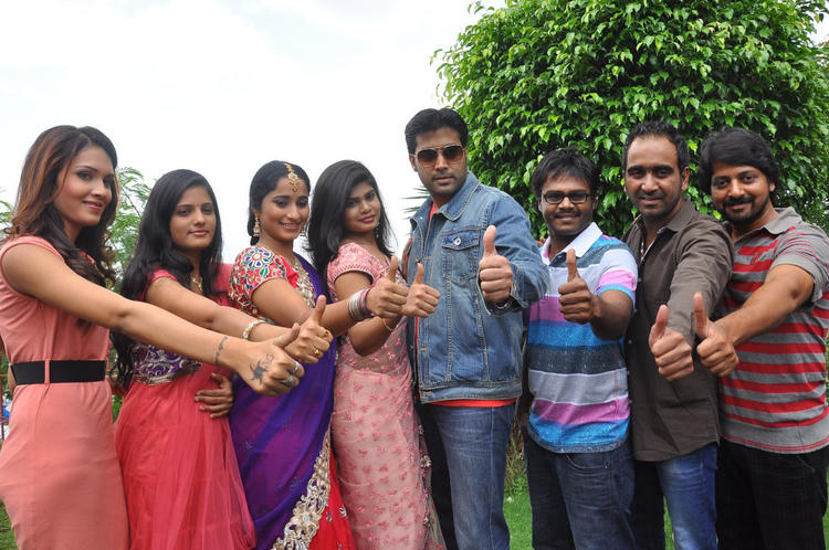 Cast And Crew Launch Anandam Malli Modalaindi Movie