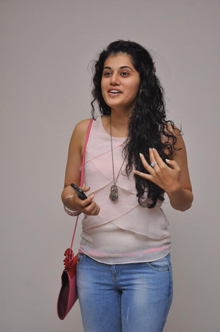 Taapsee Pannu Smiling Look Photo Still