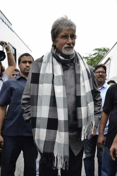 Amitabh Bachchan Graces For Kalyan Jewellers Ad