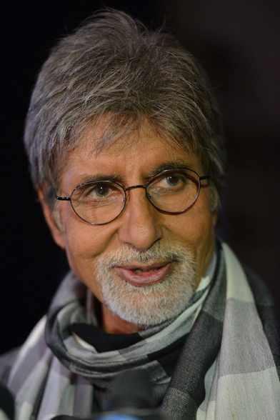 Amitabh Bachchan Sweet Look During The Kalyan Jewellers Ad