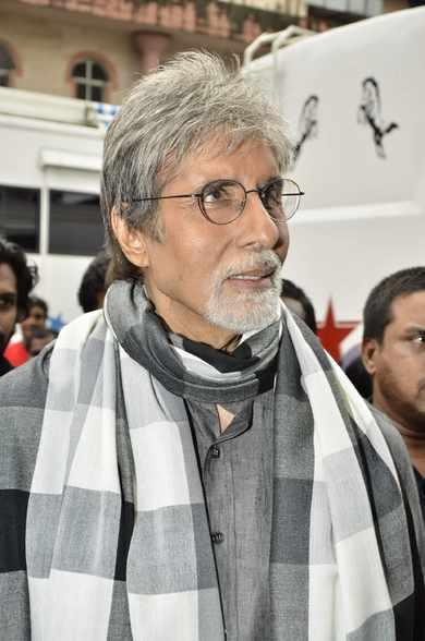 Bollywood Big B Snapped For Kalyan Jewellers Ad With South Stars