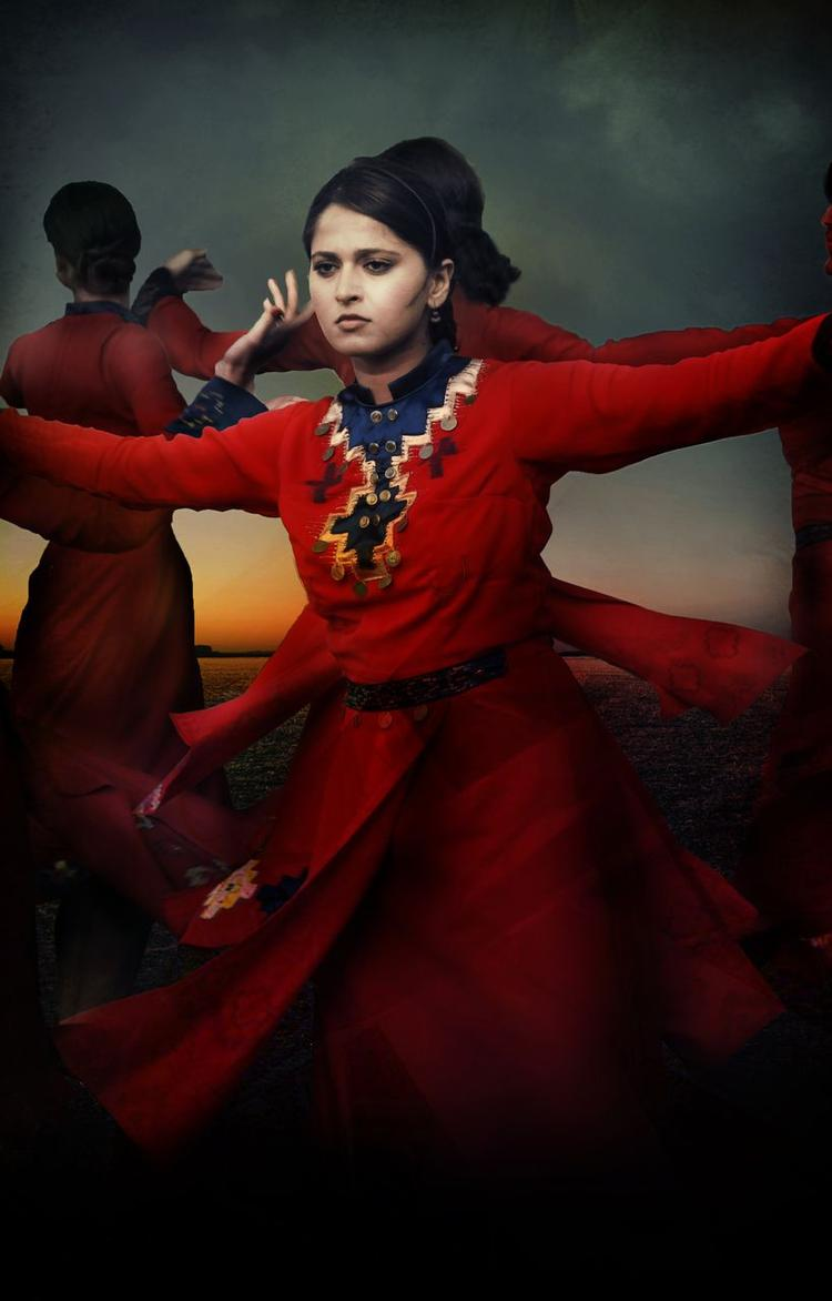 Anushka Shetty Dancing Pose In Varna Movie First Look Poster