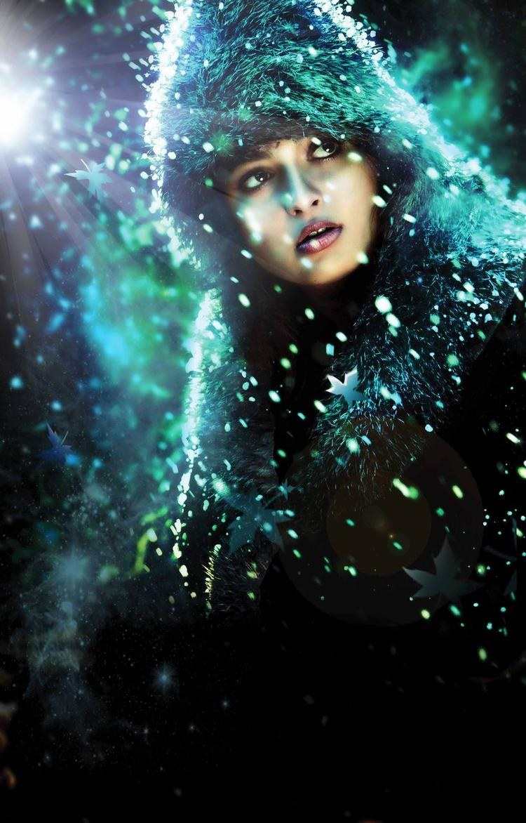 Anushka Shetty Stunning Look In Varna Movie First Look Poster