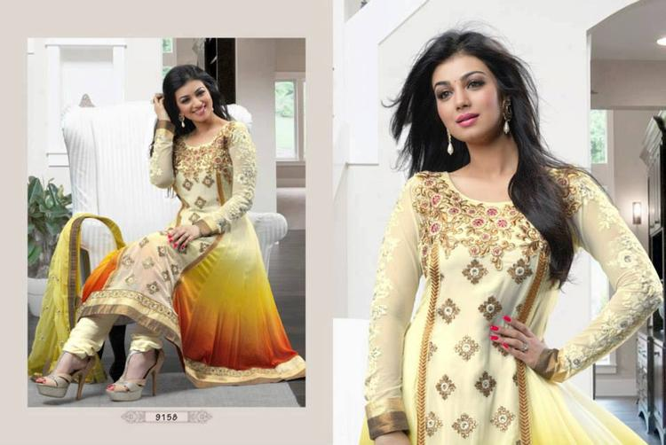 Ayesha Takia Latest Sizzling Beauty Still For Anarkali Suit Ad