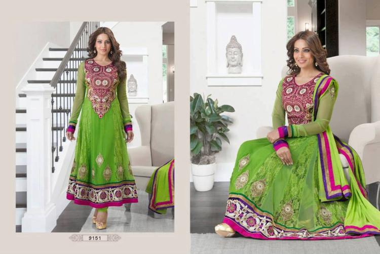 Bipasha Basu Looking So Beautiful And Gorgeous For Anarkali Suit Ad