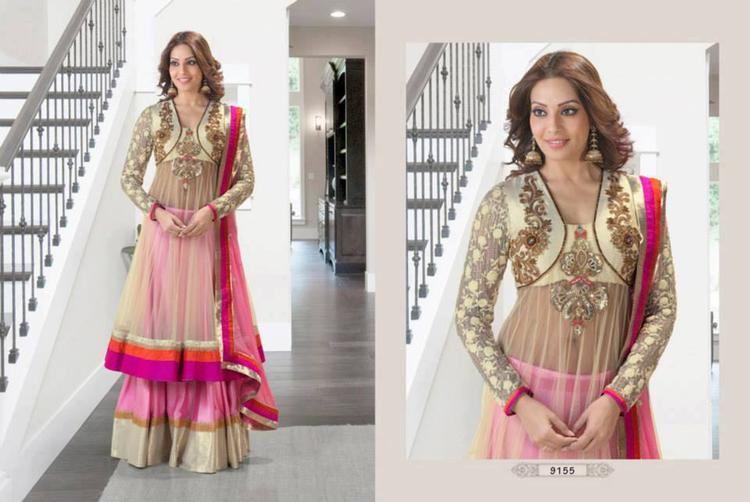 Bipasha Basu In Party Wear Anarkali Suits For Photo Shoot