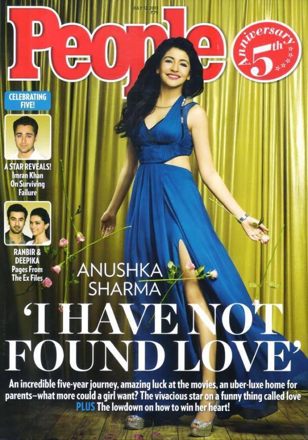 Anushka Sharma Amazing Still On The Cover Of People Magazine July Issue