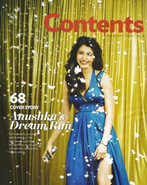 Anushka Sharma Smiling Still In Sleeveless High Cut Blue Gown For People Magazine