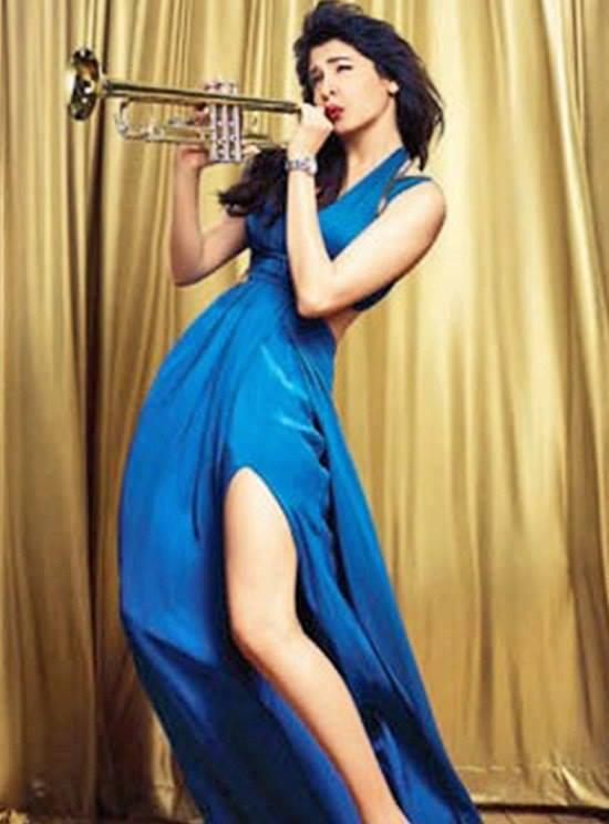 Anushka Sharma Trumpet Playing Still On The Cover Of People Magazine 2013
