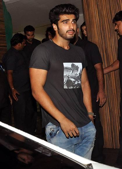 Arjun Kapoor At Aamir Khan Party