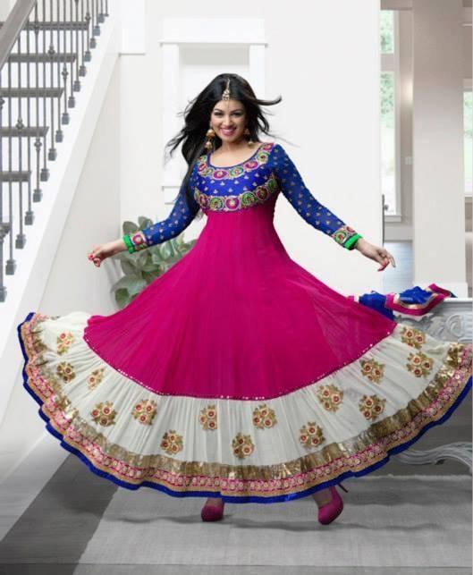 Ayesha Takia Amazing Still For New Salwar Kameez Collection 2013