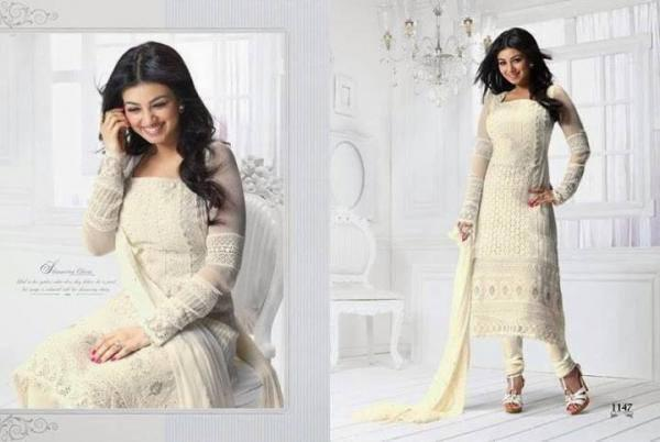 Ayesha Takia Looks Hot In This Photo Shoot For New Salwar Kameez Collection 2013