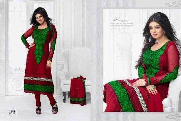 Ayesha Takia Shoot For New Salwar Kameez Collection 2013