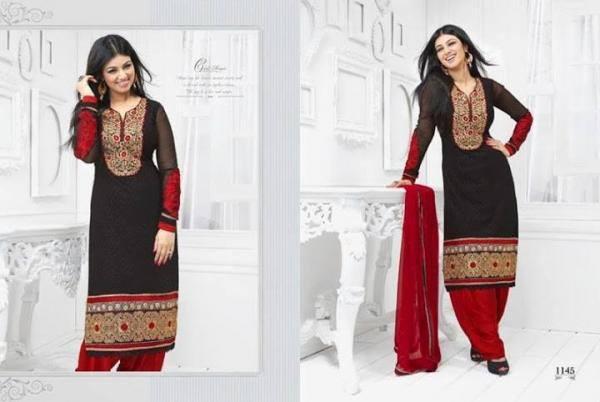 New Salwar Kameez Collection 2013 Ayesha Takia in Natasha Couture For Girls